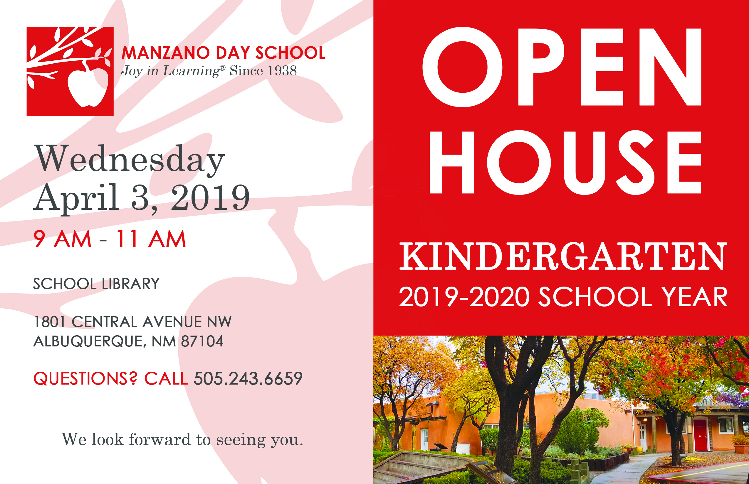 Kindergarten Admission Open House