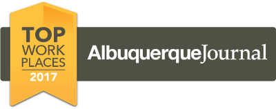 Voted top places to work by the Albuquerque Journal 2017